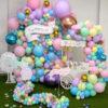 Backdrop sinh nhật chủ đề thỏ con BBX512