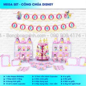 Bộ phụ kiện sinh nhật Công Chúa Disney BBX560