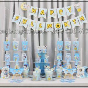 Bộ phụ kiện sinh nhật bé trai Chuột Con BBX563