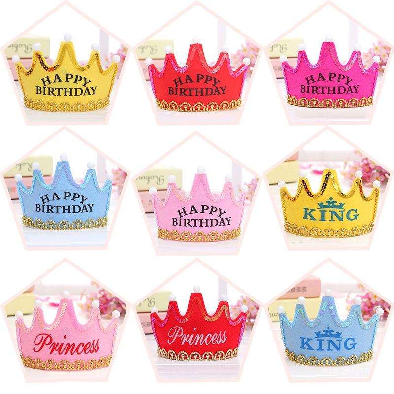 Cách làm mũ sinh nhật tại nhà đơn giản