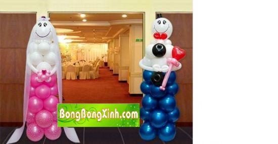 Cổng chào tiệc cưới 010