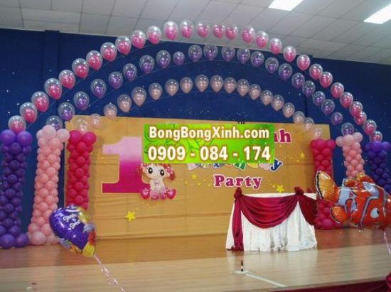 Sân khấu tiệc cưới 012