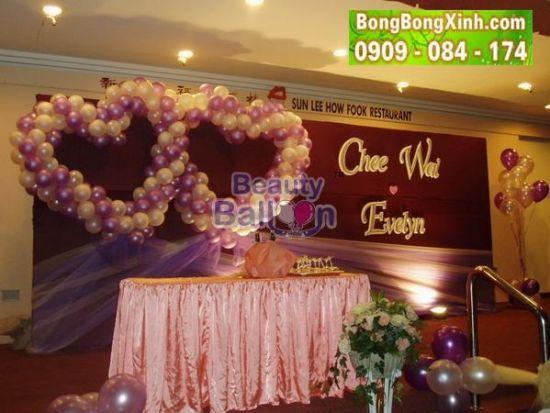 Sân khấu tiệc cưới 010