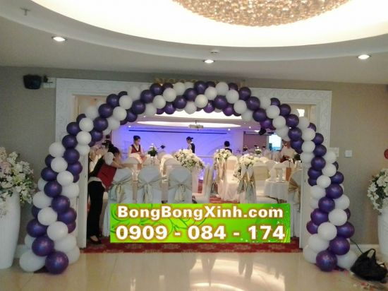 Cổng chào tiệc cưới 019