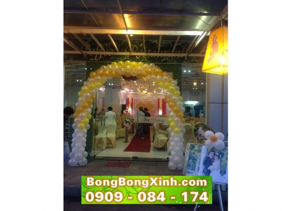 Cổng chào tiệc cưới 021