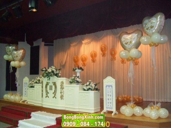 sân khấu tiệc cưới 016