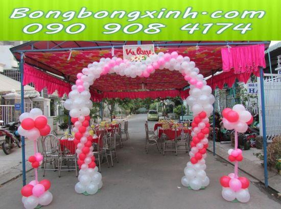 cổng chào tiệc cưới 035