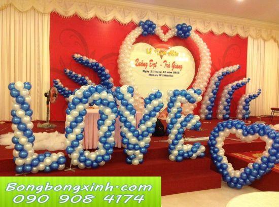 sân khấu tiệc cưới 024