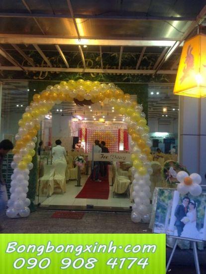 cổng chào tiệc cưới 031