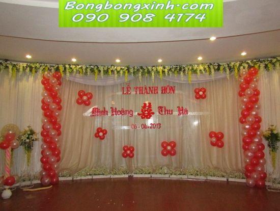 sân khấu tiệc cưới 029