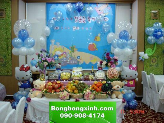 bàn quà sinh nhật 030