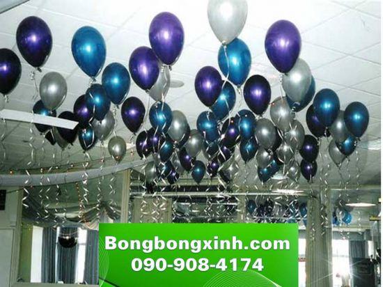 Bong bóng bay trang trí trần nhà hàng BB055
