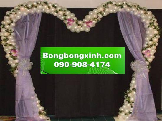 Cổng chào tiệc cưới 048