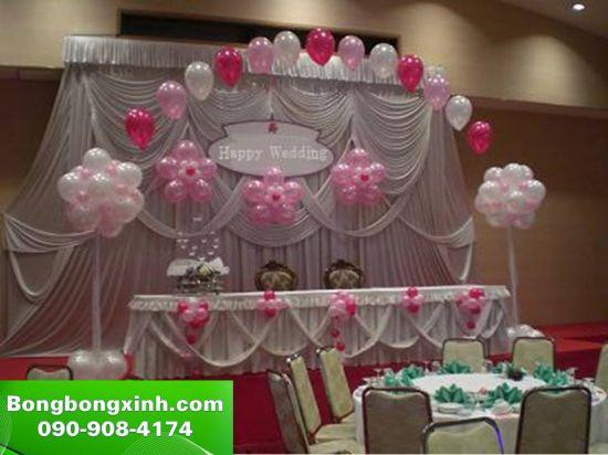 sân khấu tiệc cưới 032