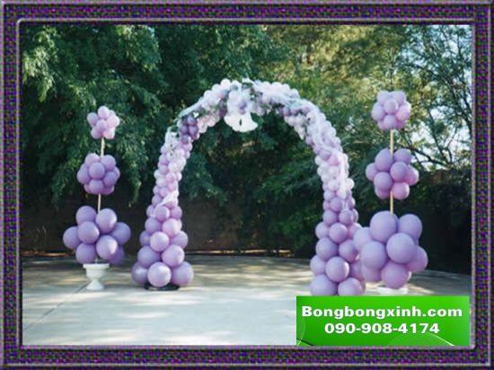 Cổng chào tiệc cưới 054