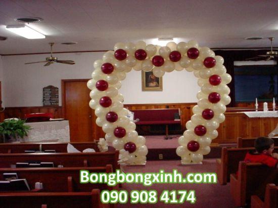 Cổng chào tiệc cưới 057