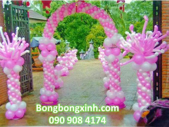 Cổng chào tiệc cưới 058
