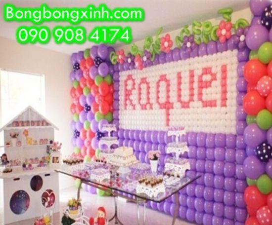 Tường Bong Bóng 001