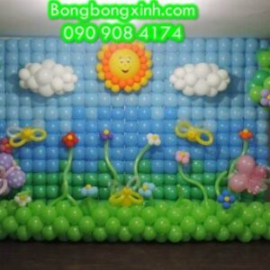 Tường Bong Bóng 002