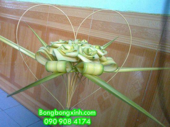 Xếp lá dừa 001