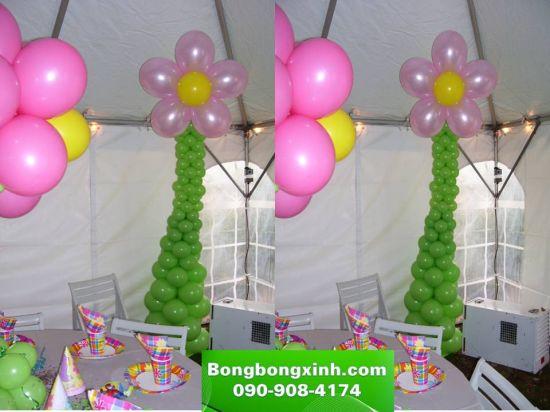 Trụ bong bóng 049