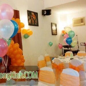 Trang trí bàn tiệc đám cưới 045