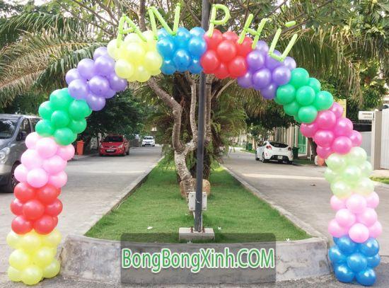 Trang trí cổng chào Event xinh đẹp 087