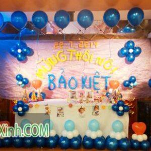 Trang trí sân khấu sinh nhật cho bé 041