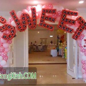 Cổng tiệc cưới ngọt ngào SWEET 079