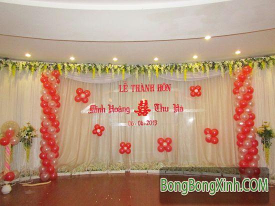 Sân khấu tiệc cưới 035