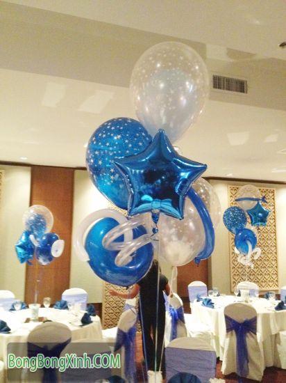 Trang trí bàn tiệc cưới lung linh 051