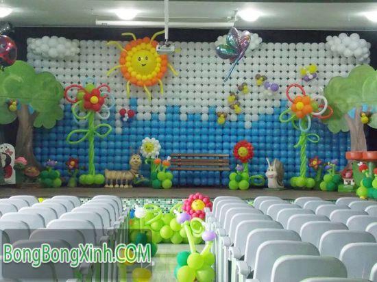 Trang trí sân khấu sự kiện SKK048