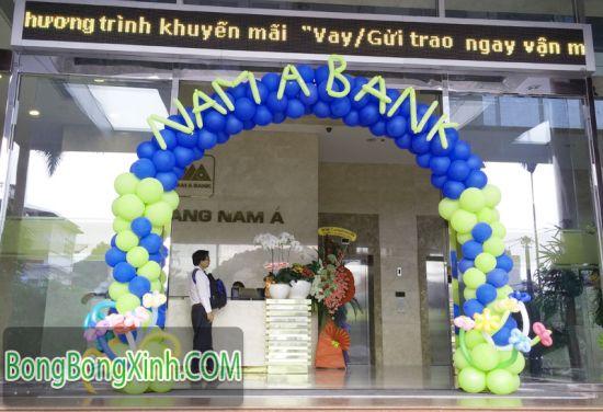 Cổng chào sự kiện Nam Á Bank CD118