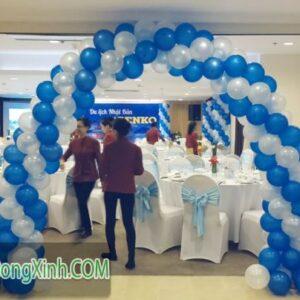 Cổng chào trang trí tiệc cưới đơn giản CA103