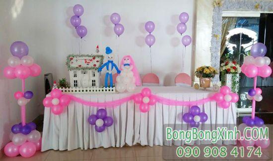 Bàn kí tên tiệc cưới BKT039 có thể kết hợp với sản phẩm