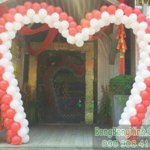 Cổng chào trái tim xinh đẹp trang trí tiệc cưới CA109