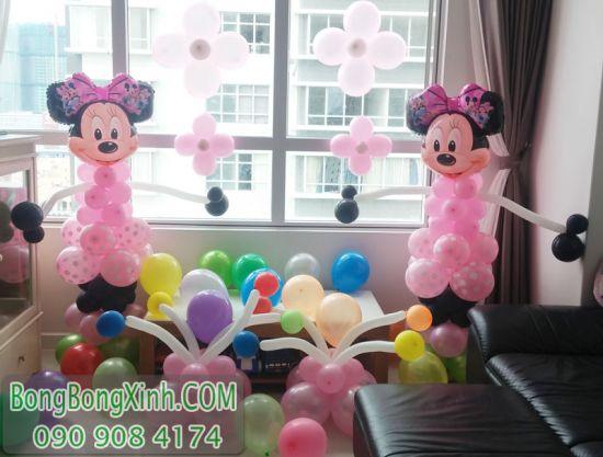 Trụ bong bóng chuột Mickey đáng yêu TBB136