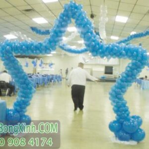 Cổng chào ngôi sao trang trí tiệc cưới CA111