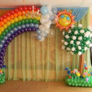 Sân khấu trang trí sinh nhật độc đáo SK049