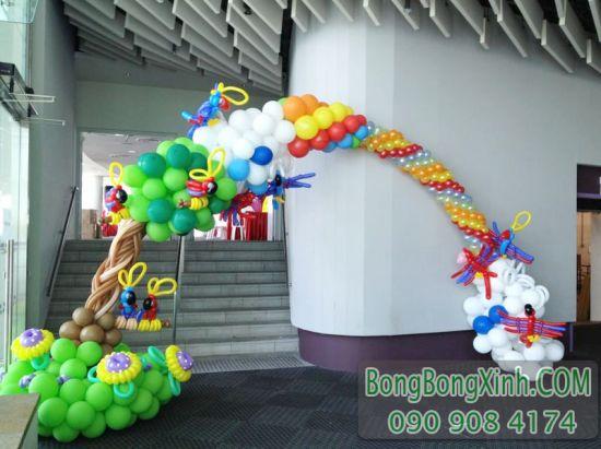 Cổng chào bong bóng trang trí sự kiện CD140