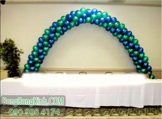 Cổng chào bong bóng trang trí bàn sự kiện CD145