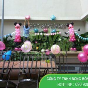 Trang trí sân khấu sinh nhật cho bé SK051