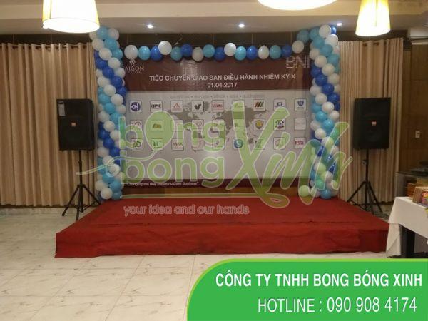 Trang trí sân khấu event SKK053