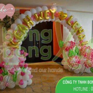 Cổng chào trang trí tiệc cưới CA114