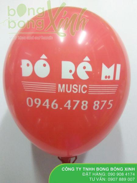 In logo lên bong bóng quảng cáo BBI034