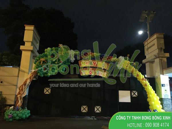 Cổng chào trang trí sự kiện quốc tế thiếu nhi cho bé 1/6 CD151