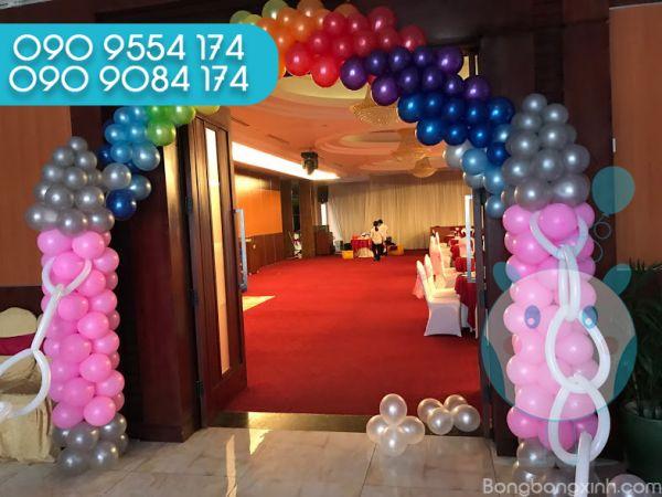 Cổng chào trang trí sinh nhật CB143