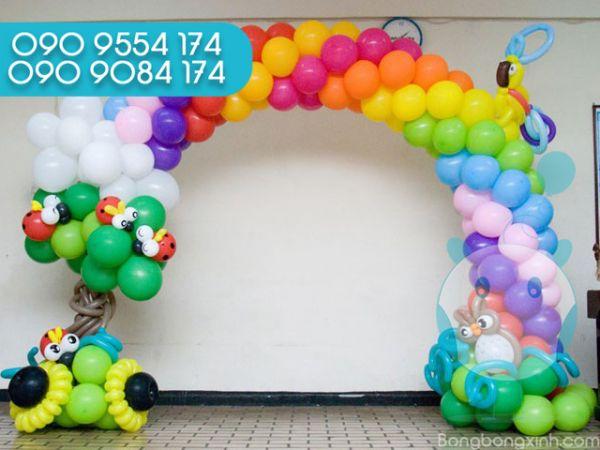 Trang trí cổng chào sinh nhật CB144
