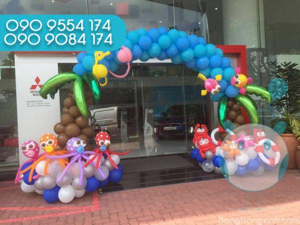 Cổng chào trang trí sinh nhật CB145