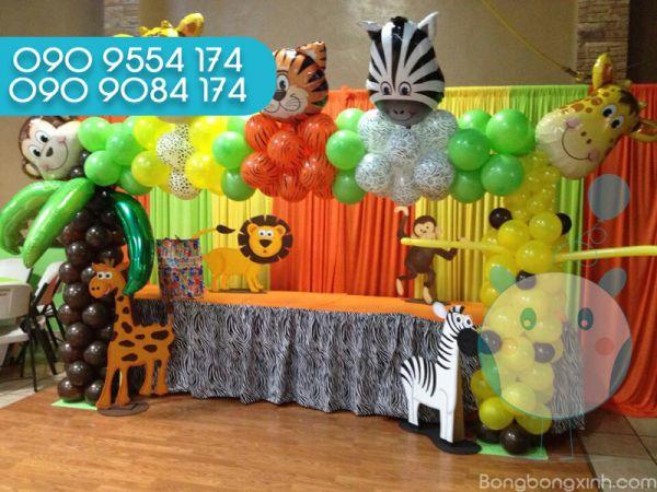 Trang trí bàn quà sinh nhật 0128